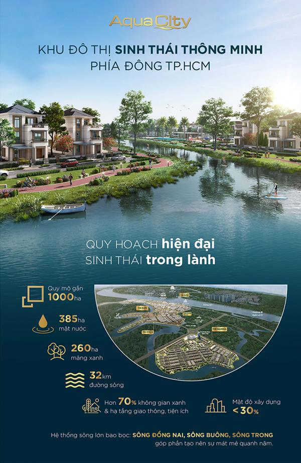 Poster dep bat dong san aquacity - thiet ke poster quang cao cao cap