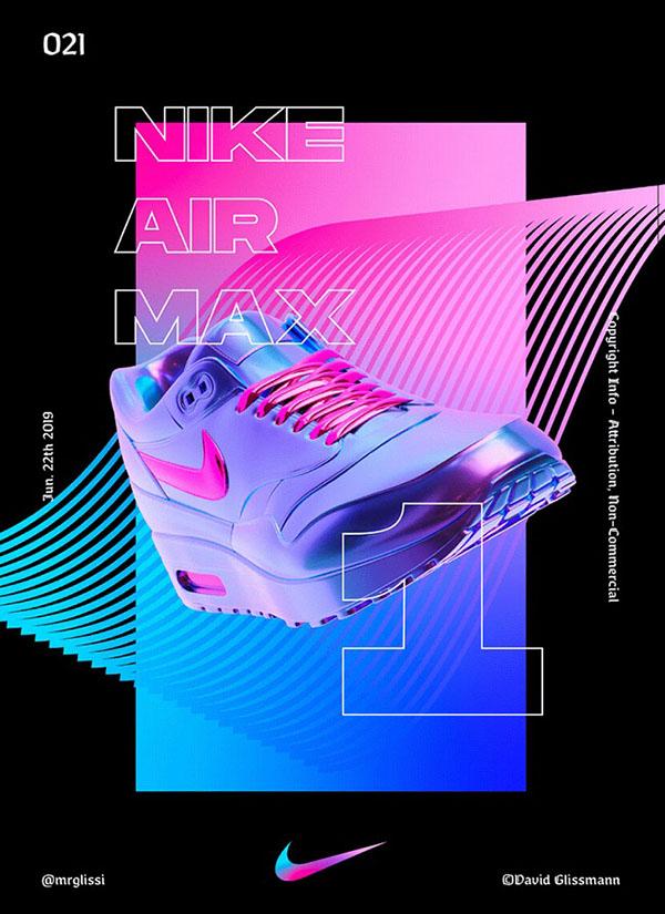 Poster Nike Brand- Trang tri poster dep thu hut nguoi nhin