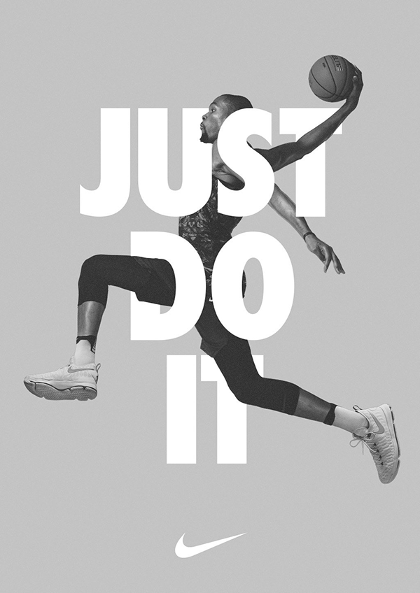 poster nike brand - just do it