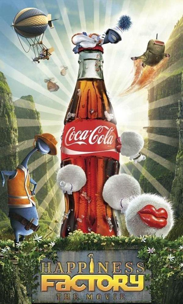 Poster Cocola xung dang voi danh hieu trum marketing quang cao