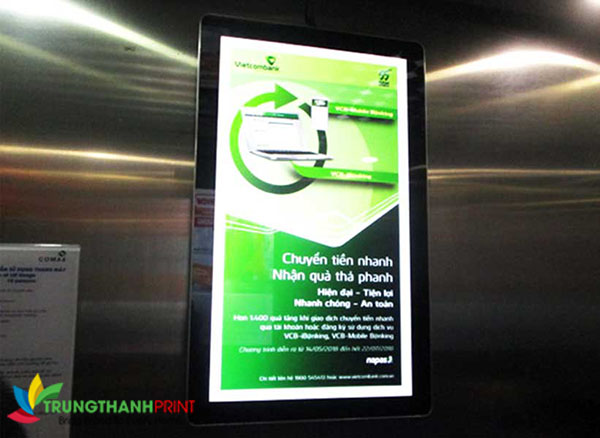 poster quang cao led trong than may chuyen nghiep